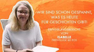 FSJ-Erfahrungsbericht von Isabelle