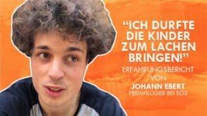 FSJ-Erfahrungsbericht von Johann Ebert